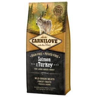 Carnilove salmon & turkey large breed adult 12kg