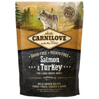 Carnilove salmon & turkey large breed adult 1.5kg