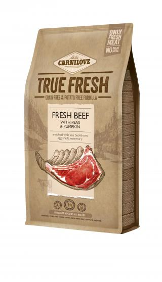 Carnilove True Fresh BEEF for Adult dogs 4 kg