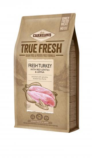 Carnilove True Fresh TURKEY for Adult dogs 4 kg