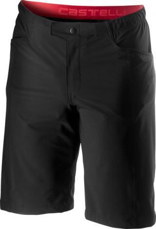 Castelli pánské volné kalhoty Unlimited bez vložky, black L L