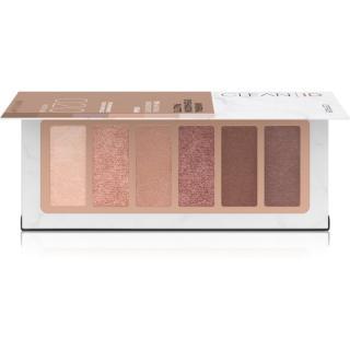 Catrice Clean ID Mineral paletka očních stínů odstín 020 Medium dámské