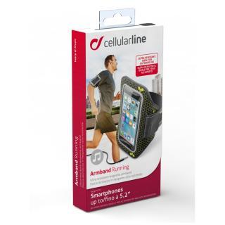 CellularLine ARMBAND RUNNING Sportovní neoprénové pouzdro vel. 5.2