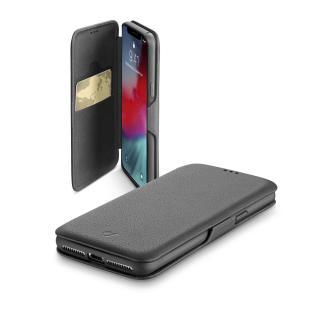 CellularLine Book Clutch flipové pouzdro pro Apple iPhone XR, černé