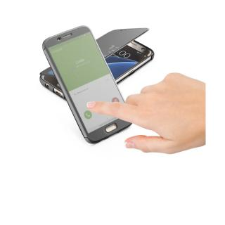 Cellularline Book TOUCH Pouzdro flip Samsung Galaxy S7 černé