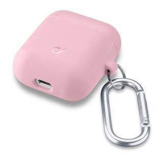 Cellularline Bounce silikonový kryt pro Apple AirPods 1 & 2, růžový