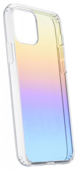 Cellularline Prisma duhový kryt Apple iPhone 11, polotransparentní