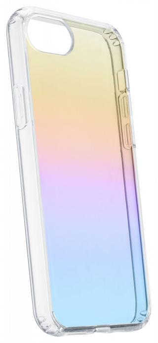 Cellularline Prisma duhový kryt Apple iPhone SE 2020/8/7/6, polotransparentní