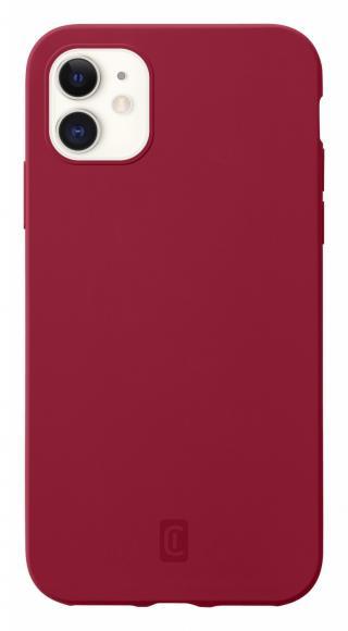 Cellularline Sensation silikonový kryt Apple iPhone 12 mini red