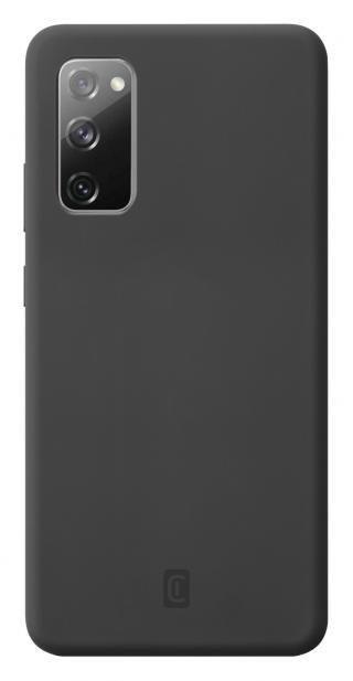Cellularline Sensation silikonový kryt Samsung Galaxy S20 FE black