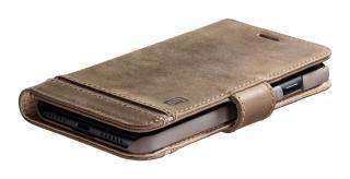 Cellularline Supreme flipové pouzdro Apple iPhone 12 mini brown