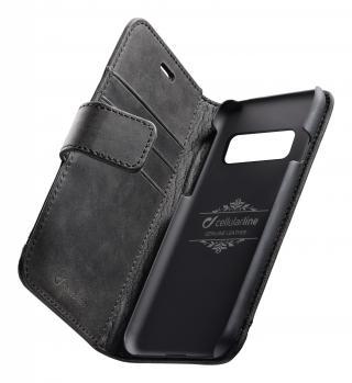 Cellularline Supreme flipové pouzdro pro Samsung Galaxy S10 , černé