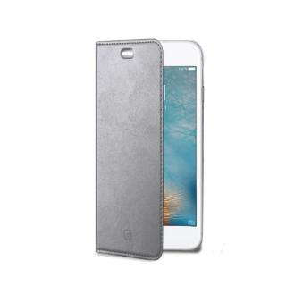 CELLY Air Ultra tenké flipové pouzdro Apple iPhone 7 Plus stříbrné