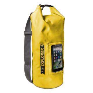 CELLY Explorer voděodolný vak 10L s kapsou na telefon do 6.2