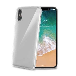 CELLY Gelskin silikonové pouzdro Apple iPhone X, bezbarvé