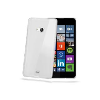 CELLY Gelskin silikonové pouzdro Microsoft Lumia 540/540 DS čiré