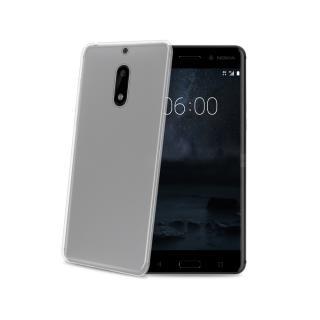 CELLY Gelskin silikonové pouzdro Nokia 6 bezbarvé