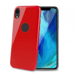 CELLY Gelskin silikonové pouzdro pro Apple iPhone Xr, red