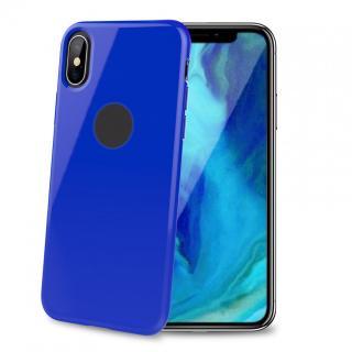 CELLY Gelskin silikonové pouzdro pro Apple iPhone XS Max, blue