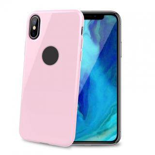 CELLY Gelskin silikonové pouzdro pro Apple iPhone XS Max, pink