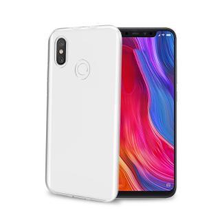 CELLY Gelskin silikonové pouzdro Xiaomi Mi 8, bezbarvé