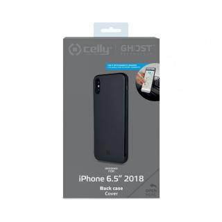 CELLY GHOSTSKIN Zadní magnetický kryt pro Apple iPhone XS Max, černý