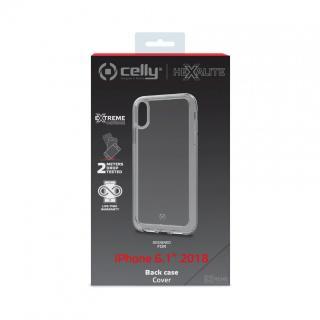 CELLY Hexalite Zadní kryt pro Apple iPhone XR, bílý