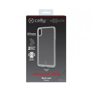 CELLY Hexalite Zadní kryt pro Apple iPhone XS Max, bílý