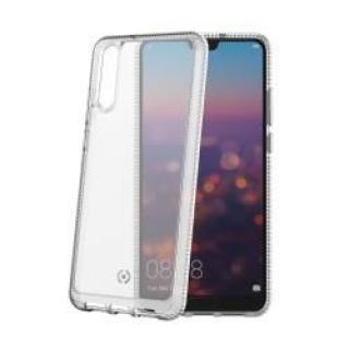 CELLY Hexalite Zadní kryt pro Huawei P20, bílý
