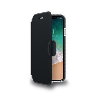 CELLY Hexawally flipové pouzdro Apple iPhone X black