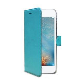 CELLY Wally flipové pouzdro pro Apple iPhone 7/8 tyrkysové