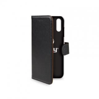 CELLY Wally flipové pouzdro pro Apple iPhone XR, černé