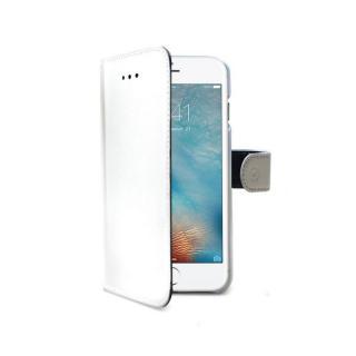 CELLY Wally flipové pouzdro pro Apple iPhone XS Max, bílé