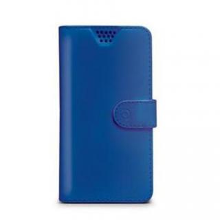CELLY Wally flipové pouzdro pro Apple iPhone XS Max, modrá