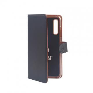 CELLY Wally flipové pouzdro pro Samsung Galaxy A70, černé