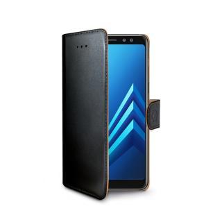 CELLY Wally flipové pouzdro pro Samsung Galaxy A8 2018 černé