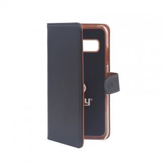 CELLY Wally flipové pouzdro pro Samsung Galaxy S10 černé
