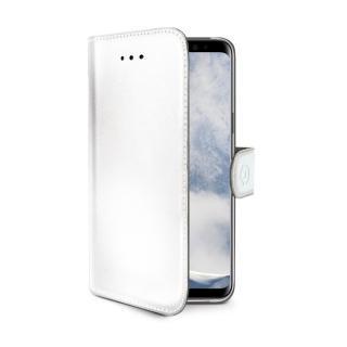 CELLY Wally flipové pouzdro pro Samsung Galaxy S9 Plus white