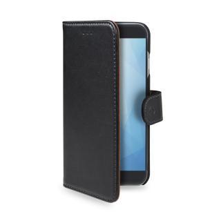 CELLY Wally flipové pouzdro pro Xiaomi Redmi 5, PU kůže, black