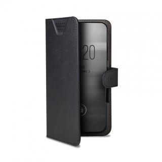 CELLY Wally One univerzální flipové pouzdro velikost XL pro 4.5 - 5.0, černé