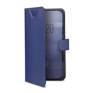 CELLY Wally One univerzální flipové pouzdro velikost XXL pro 5.0 - 5.5, modré