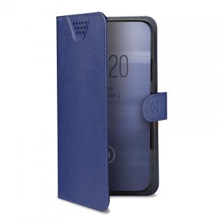 CELLY Wally One univerzální flipové pouzdro velikost XXXL pro 5.5 - 6.0, modré