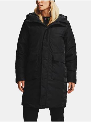 Černá bunda Under Armour Recover Down Parka dámské XL