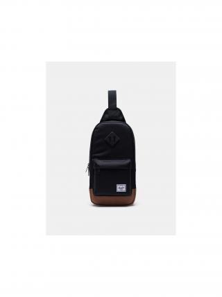 Černá crossbody taška Herschel Supply Co. Heritage pánské
