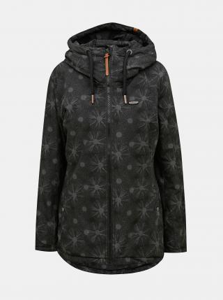 Černá dámská vzorovaná bunda Alife and Kickin dámské L