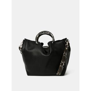 Černá kabelka Pieces Alicia One size