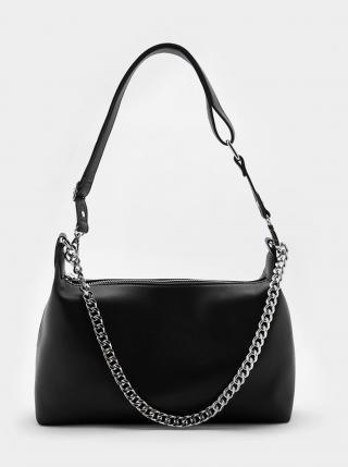 Černá kabelka s ozdobným řetízkem TALLY WEiJL dámské