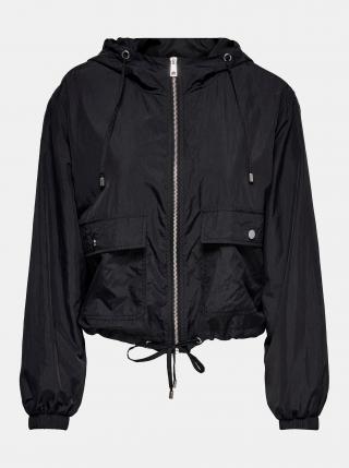 Černá lehká bunda s kapucí Jacqueline de Yong Anni dámské M