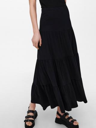 Černá maxi sukně ONLY May dámské XS