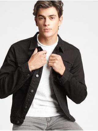Černá pánská džínová bunda GAP pánské L